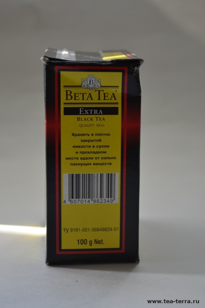 Обзор чая Beta Tea Black Tea Extra