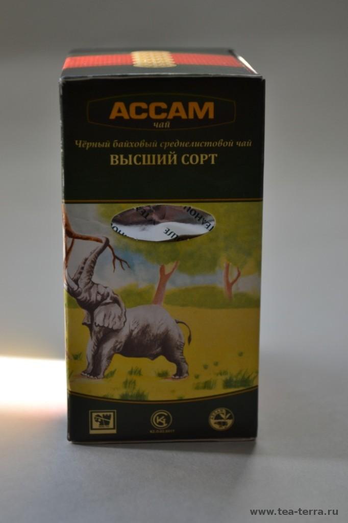 Обзор чая АССАМ чай Индийский Листовой, Казахстан