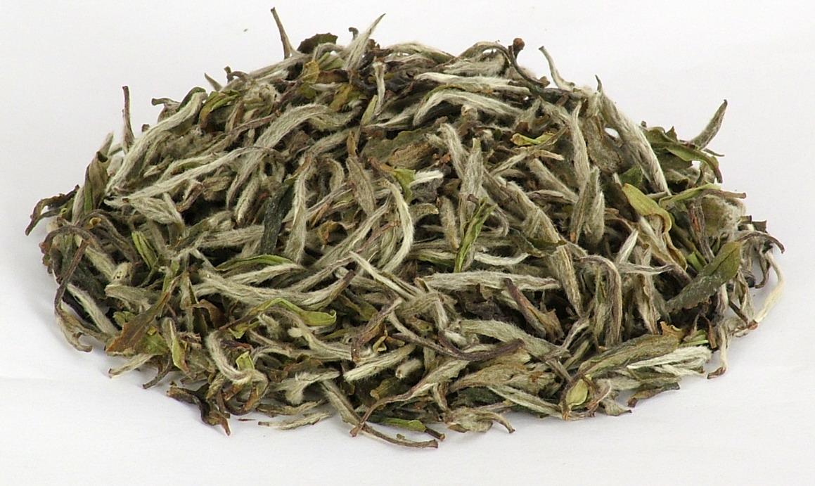 Белый чай как выглядит