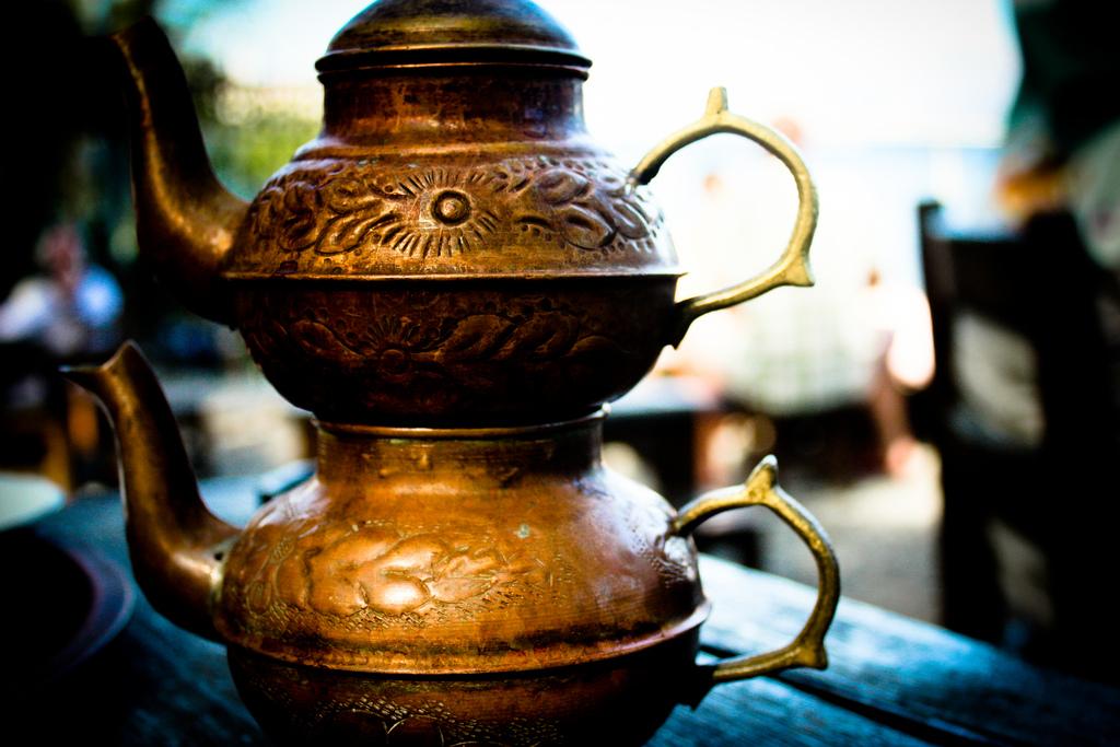 Tea at Gulhane Park