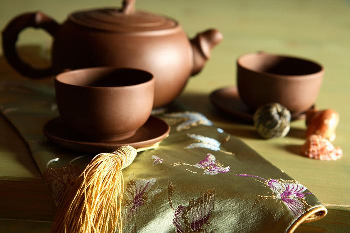 Красивый и загадочный ритуал распития чая - чайная