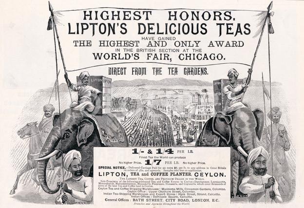 Liptons Teas Advertisement 1894