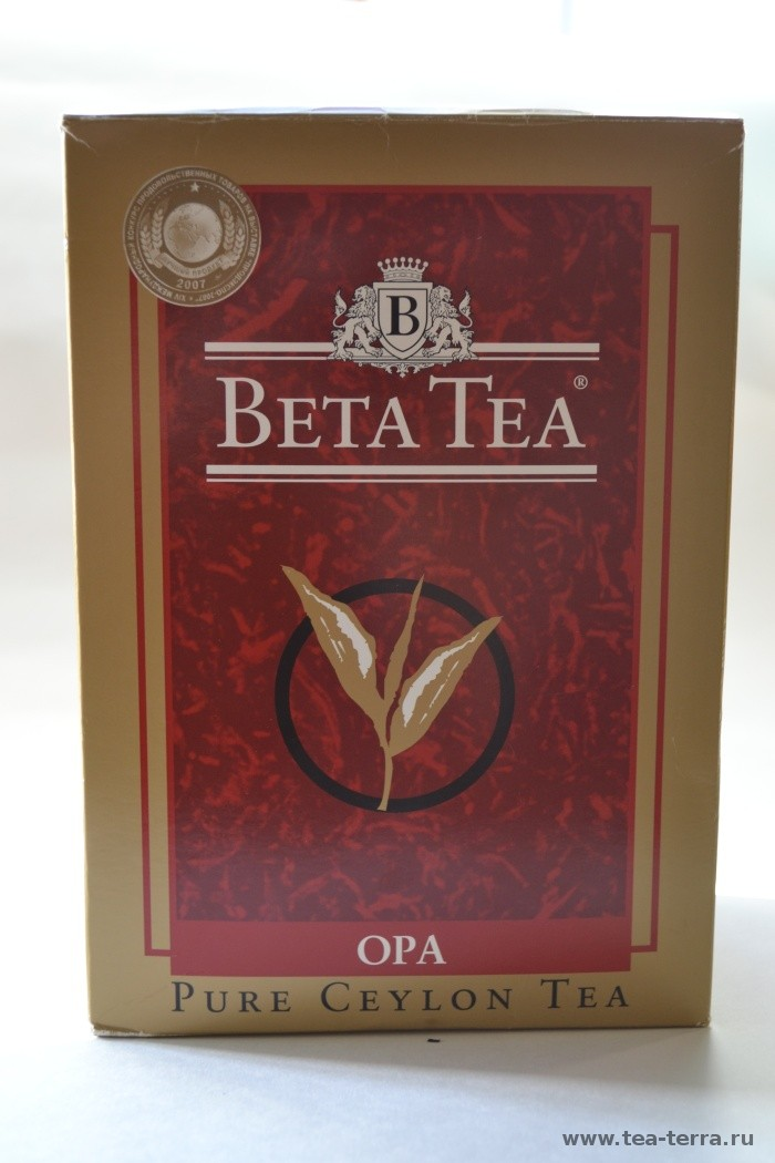 Обзор чая Beta Tea OPA