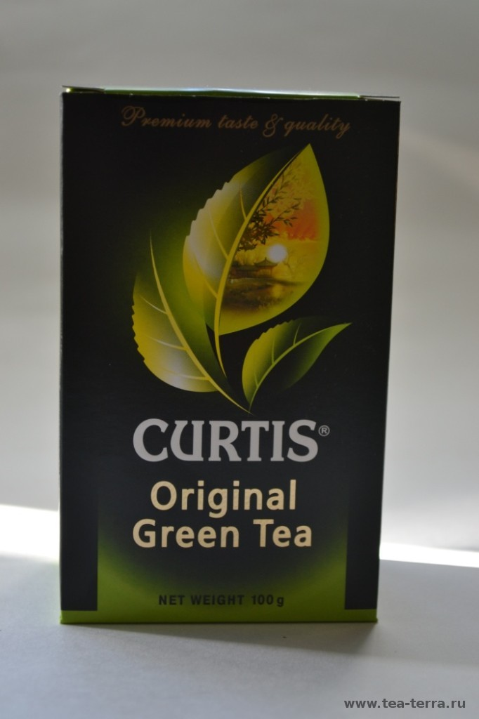 Обзор чая CURTIS Original Green Tea