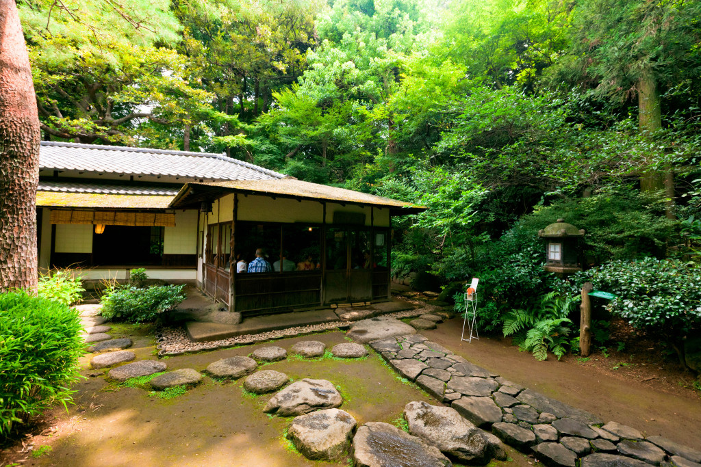 влиянием внешних японский чайный домик фото многие умеет